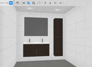 het ontwerpprogramma van ikea is vooral handig als je bij het zweedse warenhuis je badkamer gaat bestellen je bladert eerst door een lijst met voorbeelden