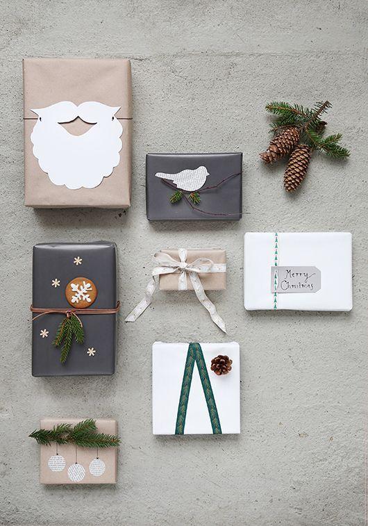 mooi inpakpapier kerst