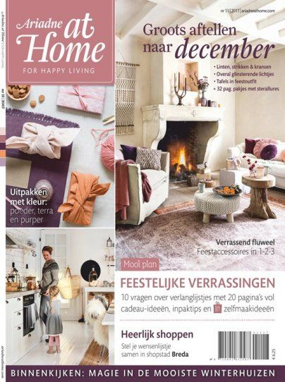 woonmagazine Ariadne at Home