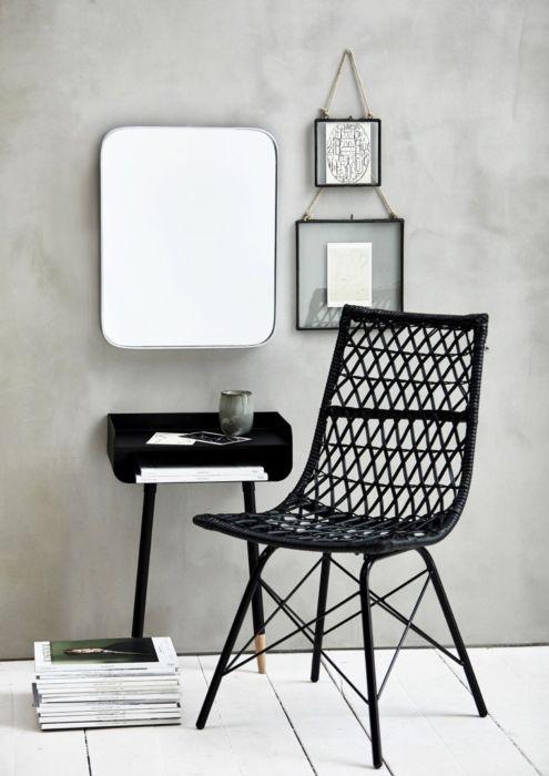 metalen stoel