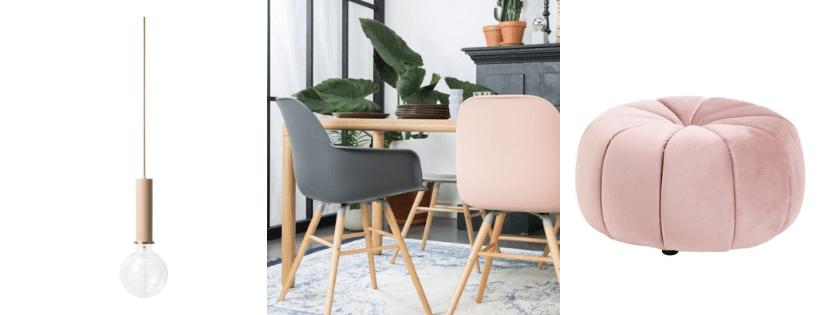 roze interieur